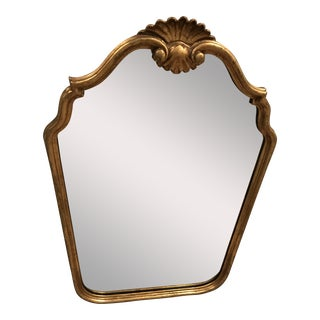 Vintage Mirror With Shell Detail