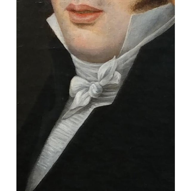 18th Century Portrait Oil Painting - Image 5 of 10