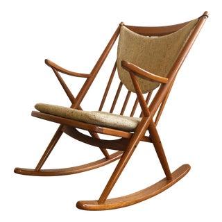 Bramin Danish Modern Teak Rocking Chair