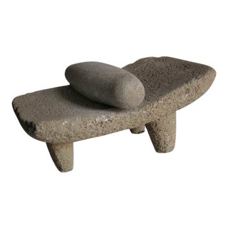 Two piece 19th Century Grinding Stone/Matate