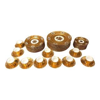 Rosenthal Gold Gilt Dinnerware Set