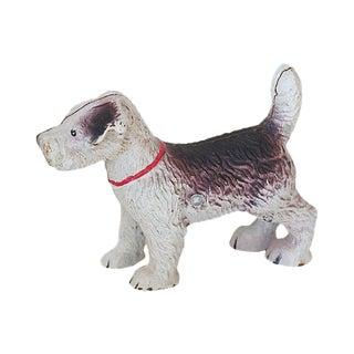 Iron Terrier Figurine