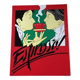 1981 Espresso Advertisement Poster