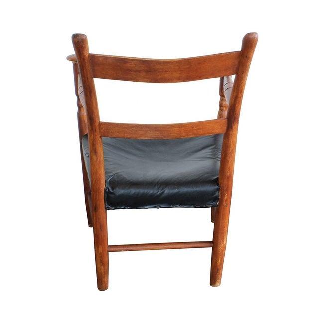 Primitive Arm Chair - Image 3 of 4