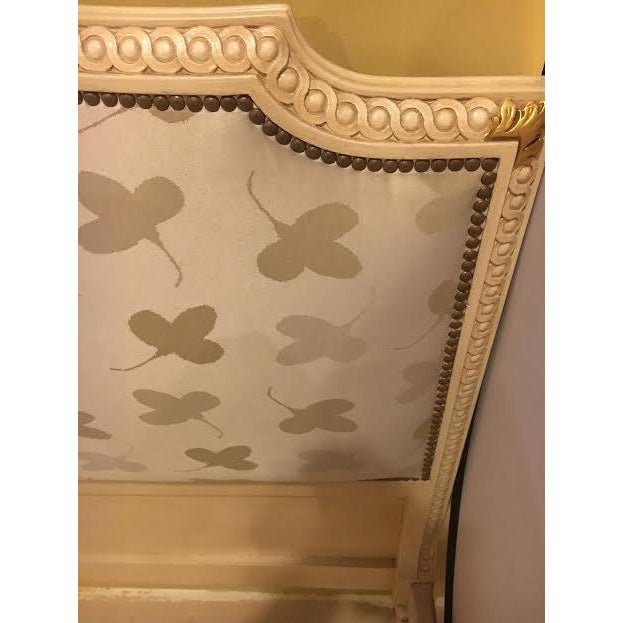 Image of Painted French Louis XVI Style Bed