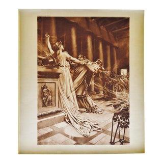 """""""Norma Act II Scene X"""" William De Leftwich Dodge Photogravure"""
