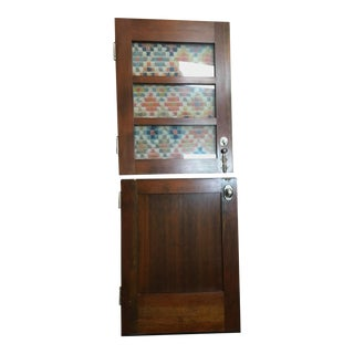 Vintage Farm House Dutch Door - A Pair