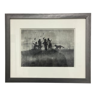 Original Charcoal Drawing, Signed and Framed
