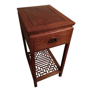 Unique Chinese Hardwood Side Table