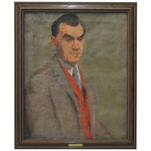 Image of Early 20th Century Oil Portrait by Potthast