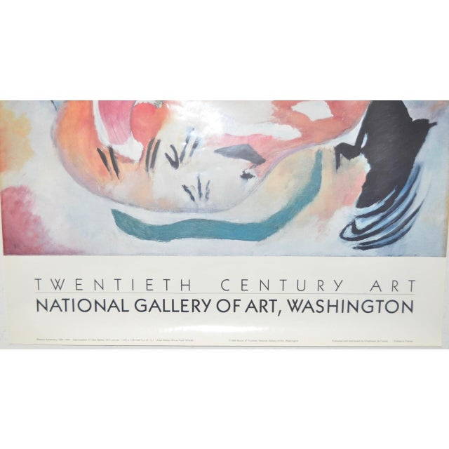 Image of Wassily Kandinsky National Gallery of Art Exhibition Poster