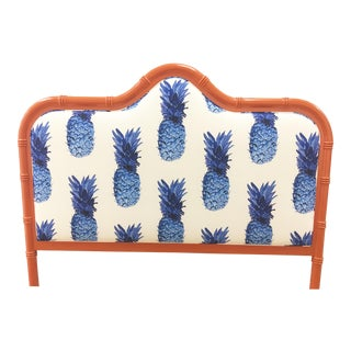 Taylor Burke Home Coral Queen Bamboo Headboard