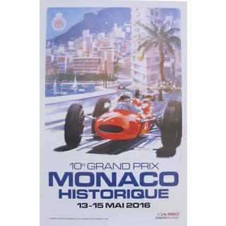 2016 Monaco Historique Classic Grand Prix Poster, 10e Grand Prix