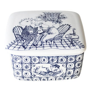 Björn Wiinblad for Nymolle Denmark Ceramic Trinket Box