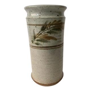 Vintage Earthtone Ceramic Vase