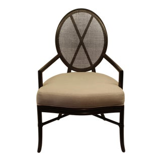 McGuire Barbara Barry Oval X Back Chair