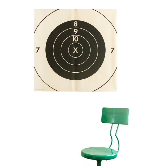 Vintage Extra-Large Bullseye Target Poster - Image 2 of 2