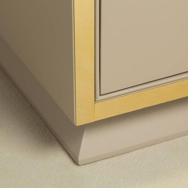 Unique Nine-Drawer Satin Lacquered Cabinet, 1950s - Image 5 of 8