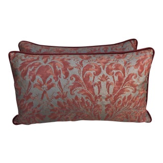 Lucrezia Patterned Fortuny Pillows - A Pair