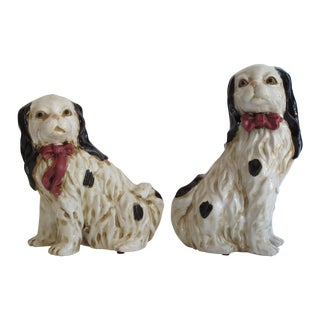 Staffordshire Style Dogs - Pair