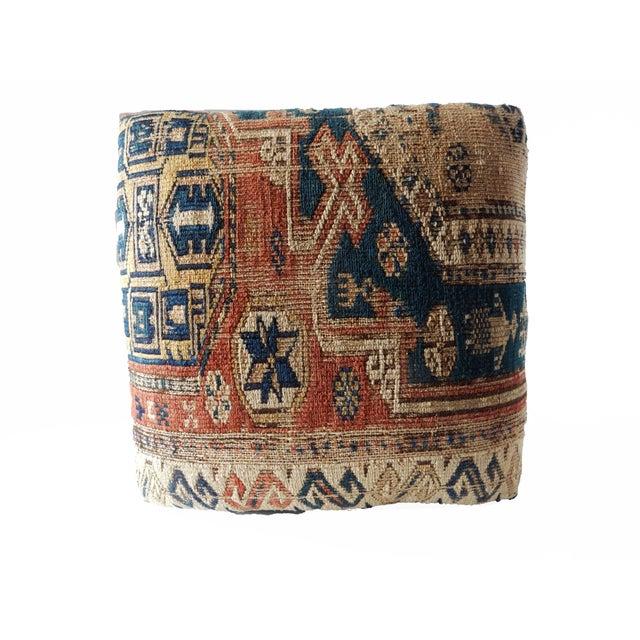 Image of Antique Caucasian Sumac Wooden Footstool