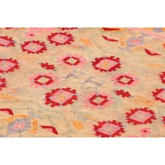 Fernanda Handmade Vintage Rug - 4′11″ × 6′9″ - Image 3 of 6