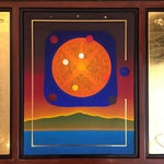 Image of Joel Hoyer Triptych Mixed Media Wall Art