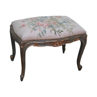 French Louis XV Style Painted Bench