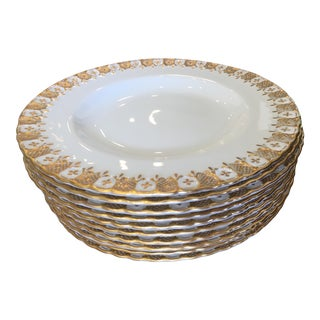 Royal Crown Derby Bone China Plates - Set of 12