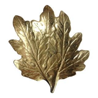 Virginia Metal Crafters Brass Chrysanthemum Dish