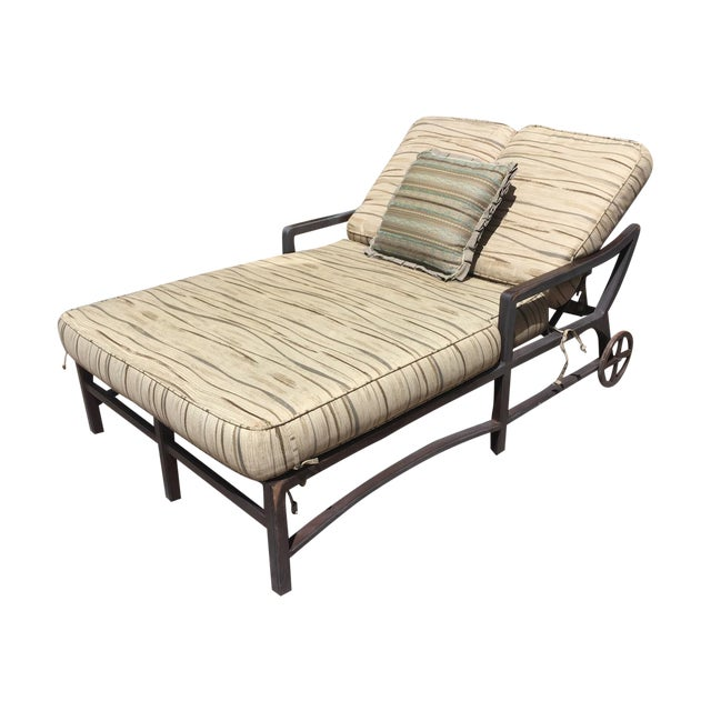 Outdoor Double Chaise - Image 1 of 9