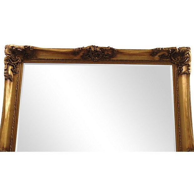Gilt Solid Oak Mirror - Image 6 of 7