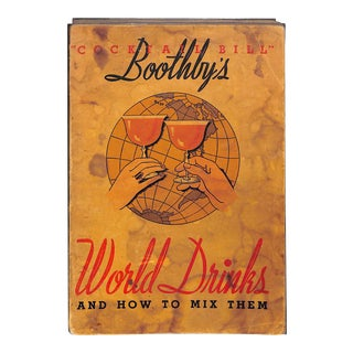 """""""World Drinks & How to Mix Them"""" Book"""