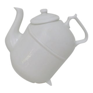 German Porcelain Tilting Teapot