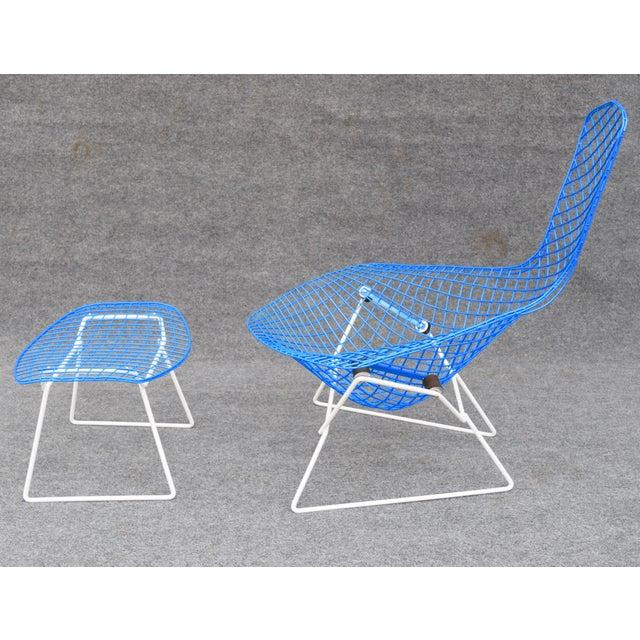 """Mid-Century Modern """"Bird"""" Chair & Ottoman - Image 4 of 10"""