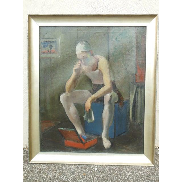 Virginia Goldberg Ballet Dancer Painting - Image 2 of 5