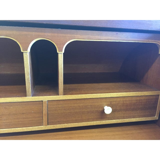 Mid-Century Danish Rosewood Roll-Top Desk - Image 6 of 9