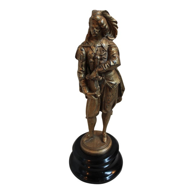 Antique Spelter Figure of a Gentleman - Image 1 of 6