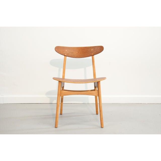 Danish Modern Bentwood Chair - Image 8 of 11