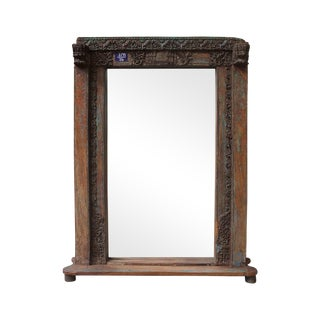 Vintage Mansion '3/99' Door Mirror