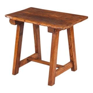 18th Century Spanish Larchwood Side Table