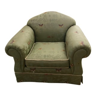 Botanical Upholstered Arm Chair