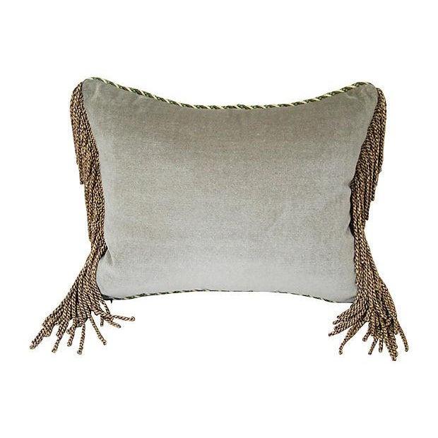 Italian Scalamandre Ping Chinoiserie Pillow - Image 4 of 4