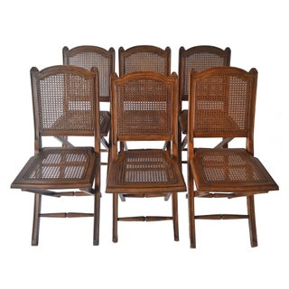 Ballard Designs Louis Folding Chairs - Set of 6