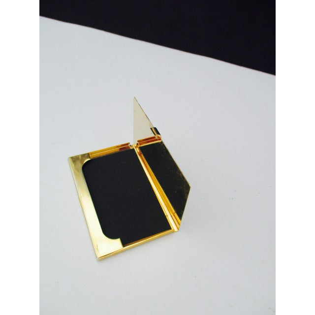 Harrods London Gold Compact Business Card Case - Image 3 of 8