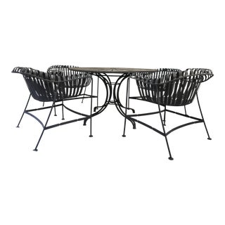 Mid-Century Meadowcraft Verandah Patio Set - Set of 5