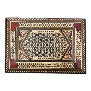 Moroccan Handmade Syrian Mosaic Box