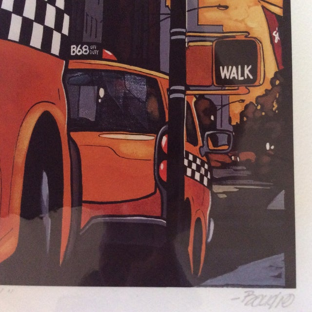 """""""Broadway"""" Neo-Pop Signed Silkscreen - Boudro - Image 4 of 4"""