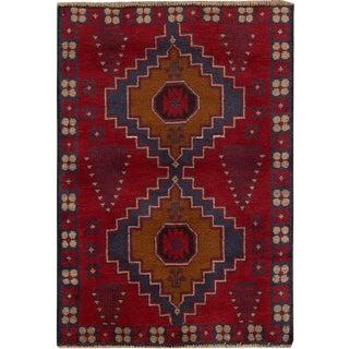 "Apadana - Vintage Persian Balouch Rug, 2'11"" x 4'2"""