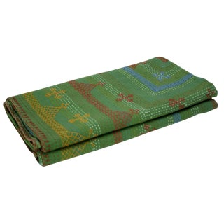 Verde Tribal Coverlet